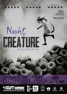 adelaide fringe: night creature