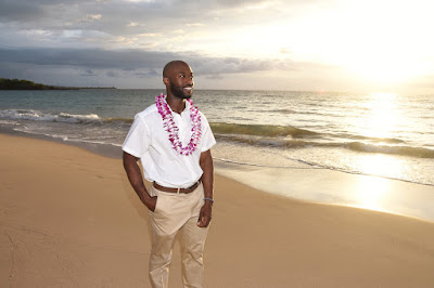 Groom in Hawaii