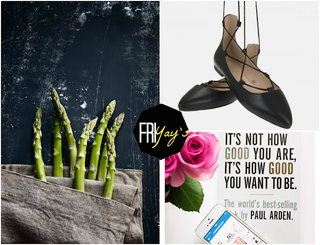 Friyays Asparagus Recipes Spargel Lace up Flats Parfois CareerGirlDaily Quotes