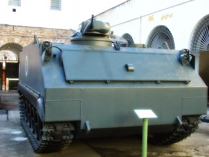 Blindado M 59: Usado na Guerra do Vietnã, no Museu do Comando Militar do Sul, em Porto Alegre