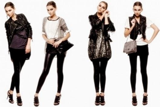 membuat pakaian hitam murah terlihat mahal