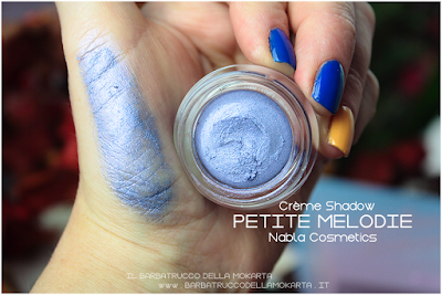 petite melodie swatches POTION PARADISE OMBRETTI CREMA NABLA CREME SHADOW