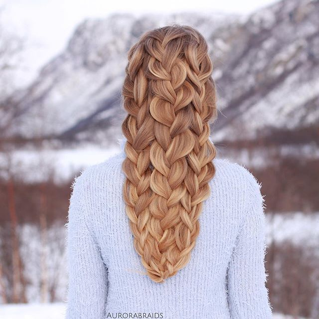 Magnificent Braids By Mia Amp Linda Norway The Haircut Web