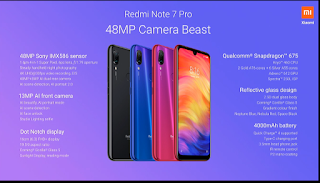 redmi note 7 pro full specification