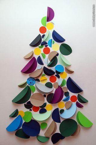 onderwijs en zo voort 3190 kerstbomen cirkels. Black Bedroom Furniture Sets. Home Design Ideas