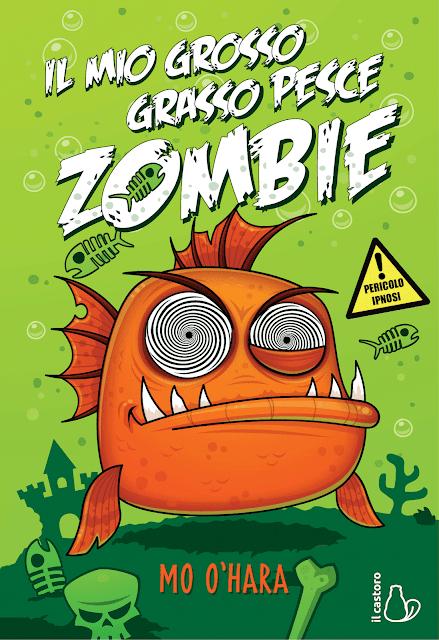 Il mio grosso grasso pesce zombie: copertina