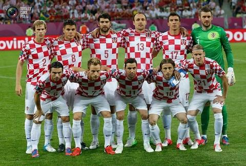 Croatia vẫn y nguyên những cầu thủ ban đầu.