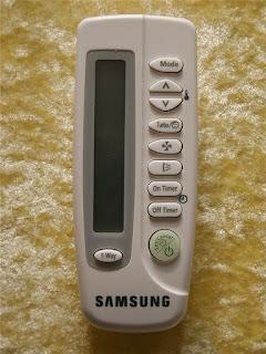 Điều khiển điều hòa Samsung