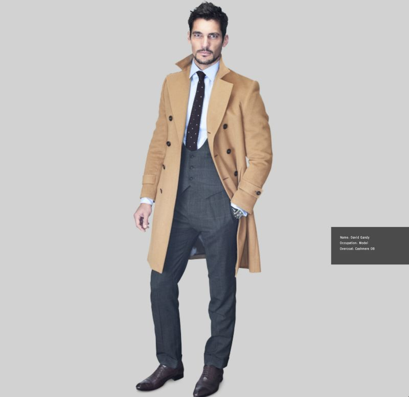 Charcoal Pinstripe Suit Brown Shoes