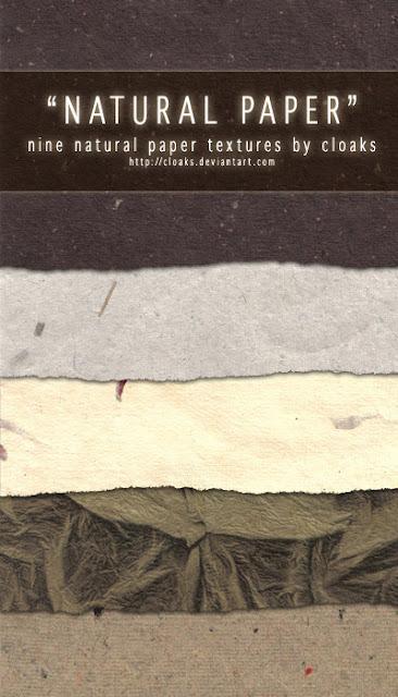 textura papel natural