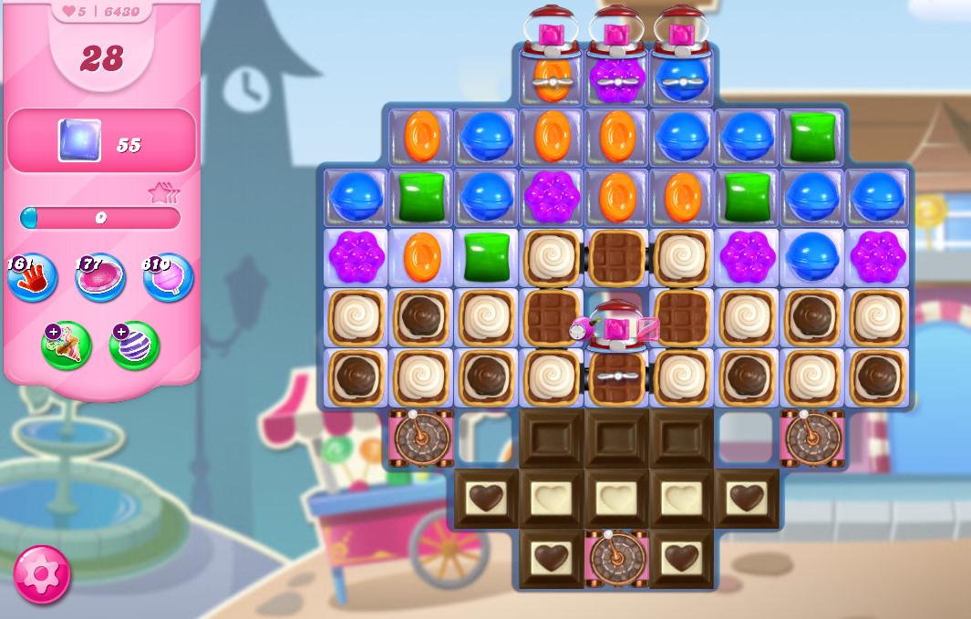 Candy Crush Saga level 6430