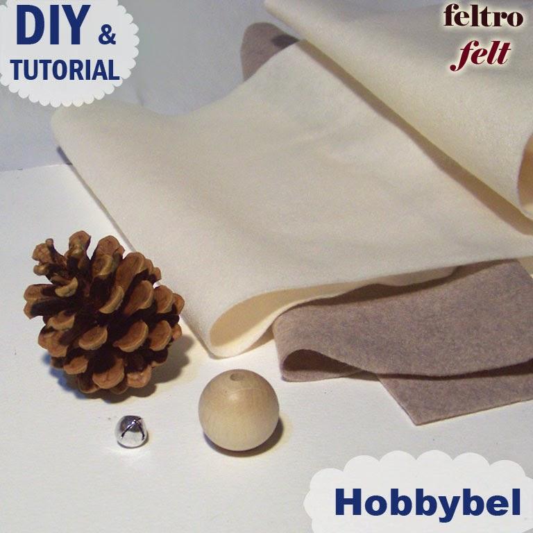 decorazione Natale fai da te - tutorial christmas felt ornament bed6f8dd9c56