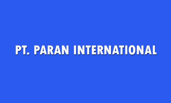 Lowongan Kerja PT. PARAN INTERNATIONAL