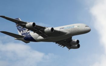 Wallpaper: Airbus A380 Airshow