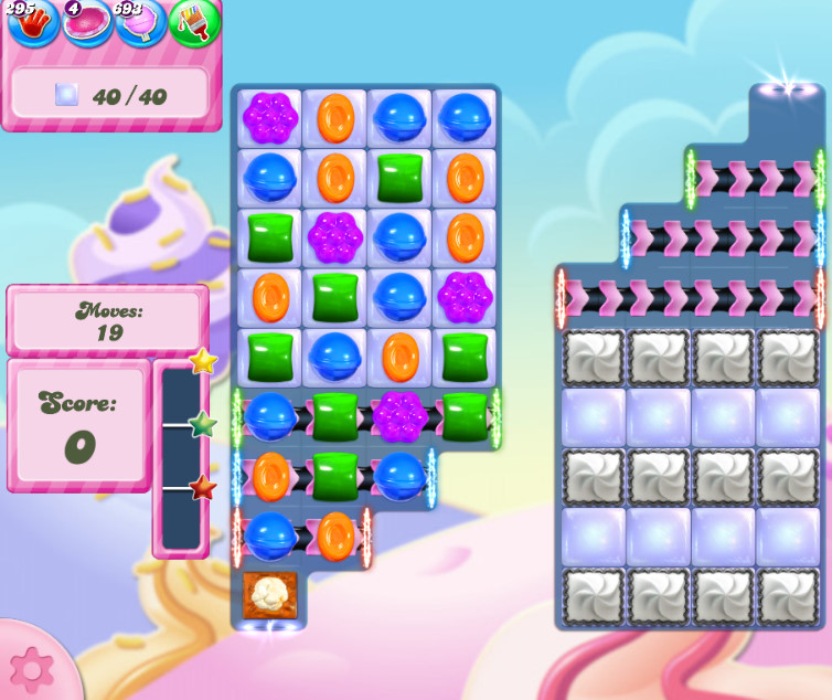 Candy Crush Saga level 2835