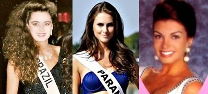Misses Universo Brasil 1991, 1992 e 1993