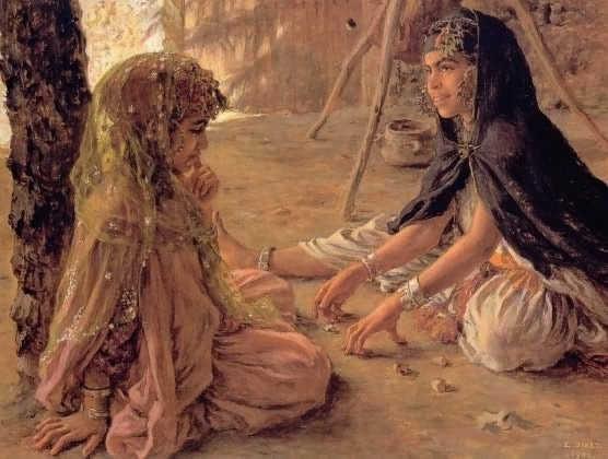 لوحات نادرة مصر بعيون Nasreddine Dinet  - مجموعة ثانية