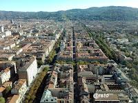 Torino dall'alto, dal grattacielo Intesa Sanpaolo
