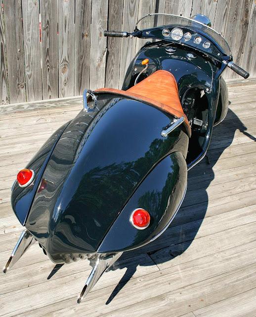 Henderson KJ Exhaust Sound Front look