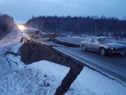 7.0 magnitude earthquake strikes Alaska