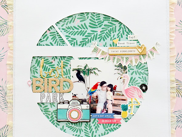 Crate Paper Design Team : Bird Park
