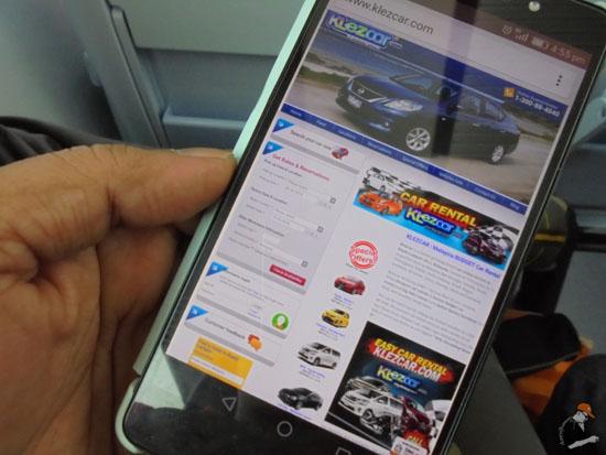 Pengalaman Tempah Online Kereta Sewa KLEzCar