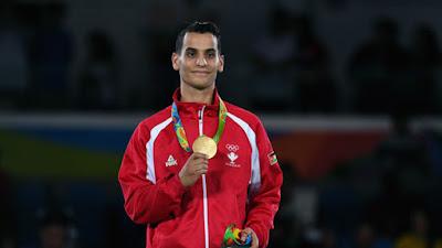 Ahmad Abughaush atlet taekwondo
