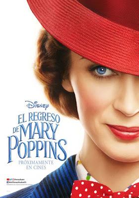 EL REGRESO DE MARY POPPINS - cartel españa