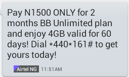 airtel+4gb Tech: How To Be Eligible For Airtel 4GB BIS Data Plan