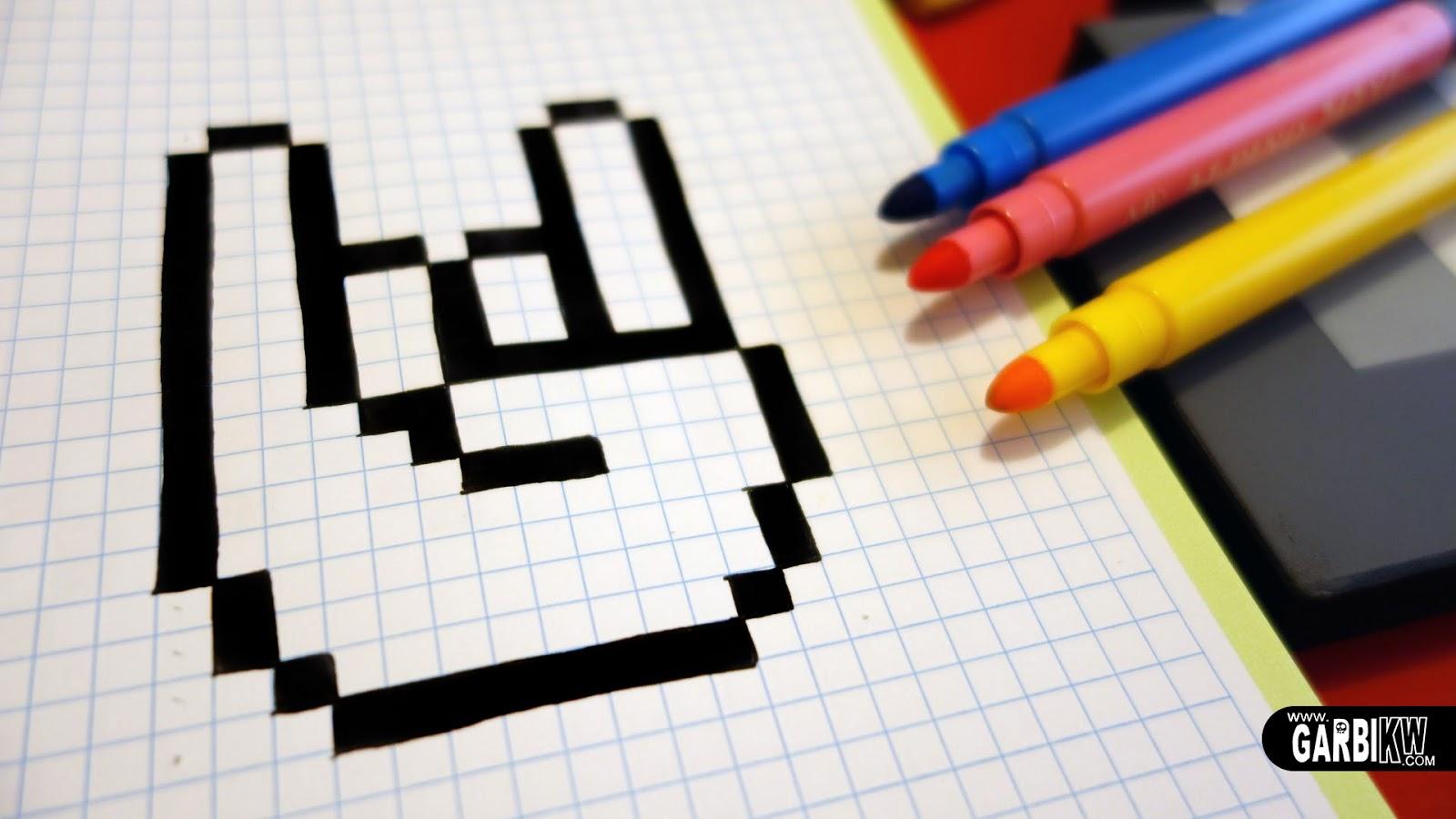 Dessin Pixel Kawaii Facile