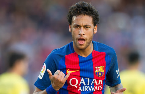 """£185m"" Neymar tops the list as the world's most valuable player"