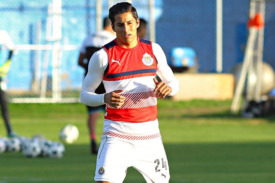 El jugador del Guadalajara Carlos Cisneros.