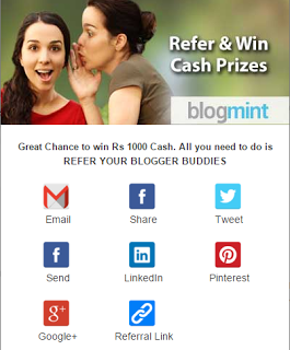 BLOGMINT EARN 1000 RS. FREE FOR BLOGGERS