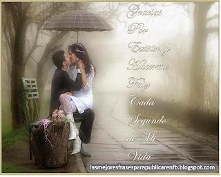 Frases De Amor: Gracias Por Existir Y Hacerme Feliz
