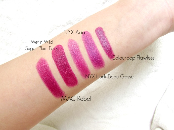 Dupe Discovered: MAC Rebel Lipstick - Beauty, Fashion ... |Mac Rebel Lipstick Nyx Dupe