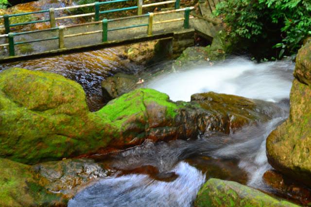 Air Terjun Guruh Gemurai Yang Deras