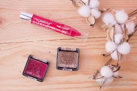 Maquillaje de fiesta con Wet'n'Wild: ColorIcon Glitter Single y MegaSlicks Balm Stain