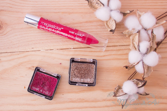 Maquillaje de fiesta con Wet'n'Wild: ColorIcon Glitter Single y MegaSlicks Balm Stain