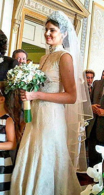 Vestido de noiva da Angel/ Arlete (Camila Queiroz) Verdades Secretas Vestido