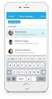 Microsoft Garage launches Send email app for iPhone, coming to Android and Windows Phone soon