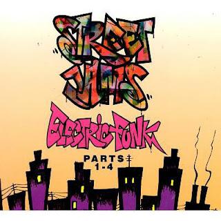 VA - Street Jams: Electric Funk, Parts 1-4 (4 CD) (1992-1994) FLAC