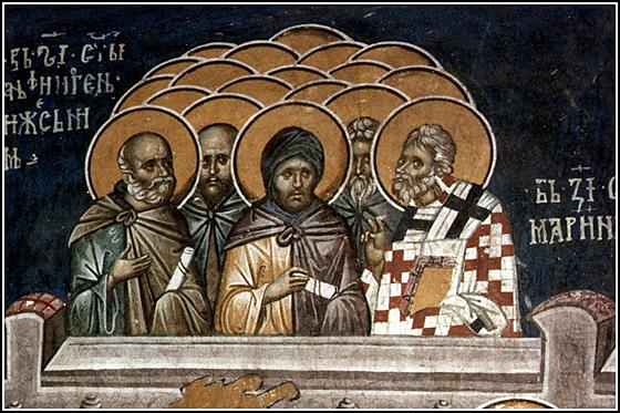 "Результат пошуку зображень за запитом ""Святого священномученика Атиногена і десяти його учнів"""