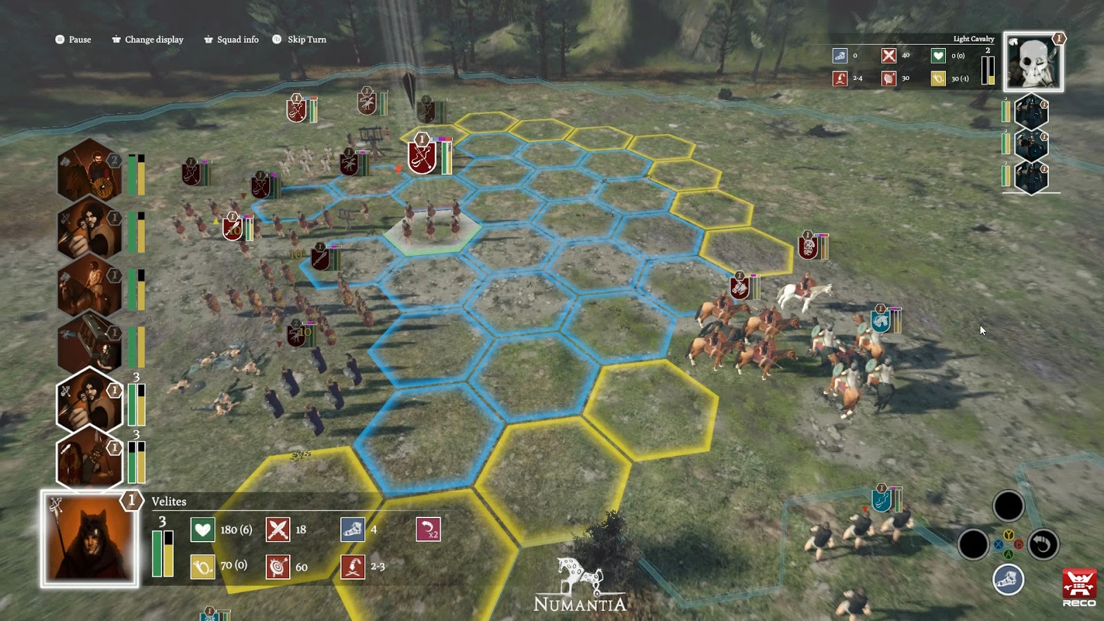 Review Numantia Chess On The Battlefield Gamedev Indiegame Games Freezer Retrogaming