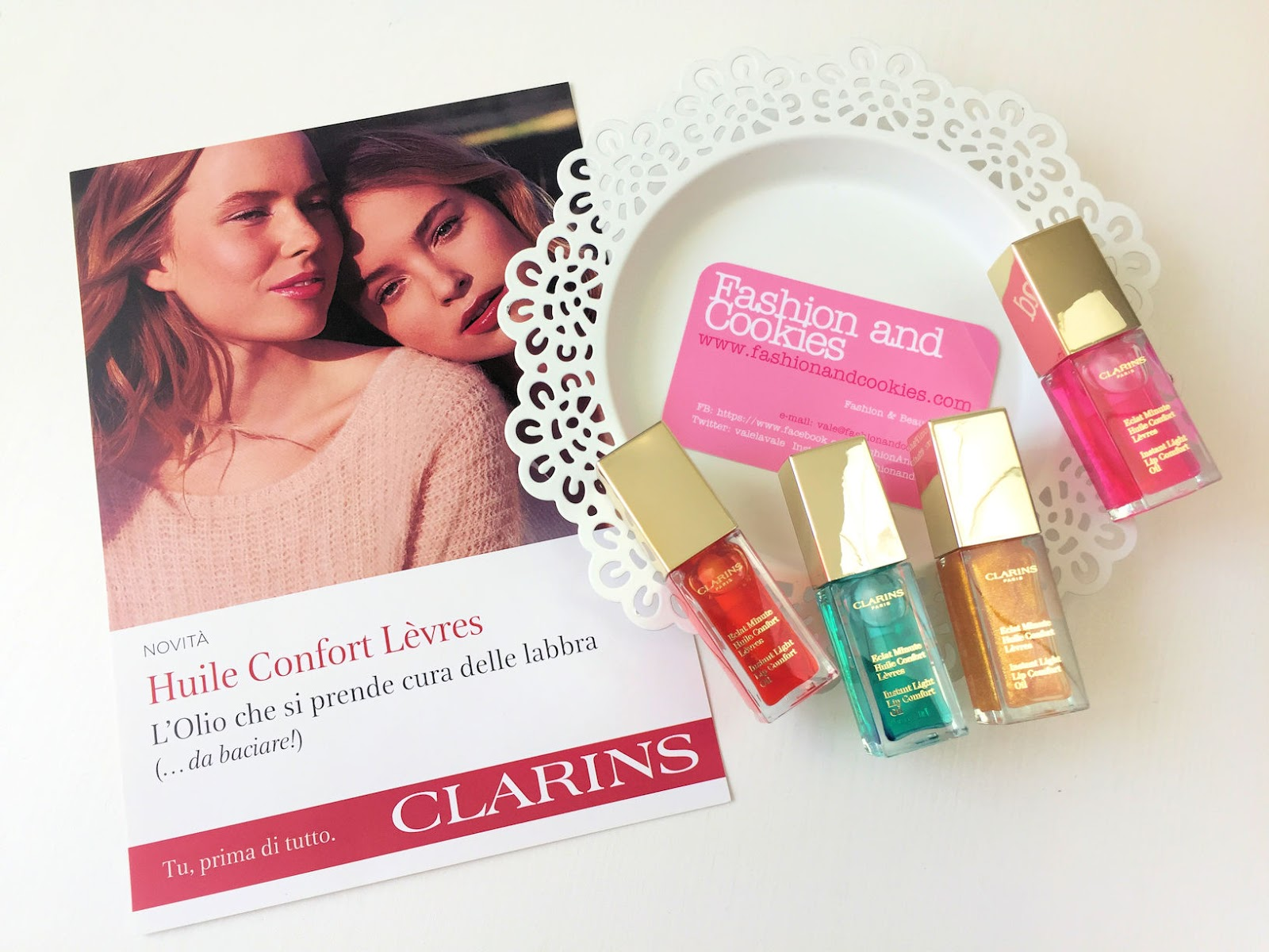 Clarins Huile Confort Levrès review on Fashion and Cookies beauty blog, beauty blogger