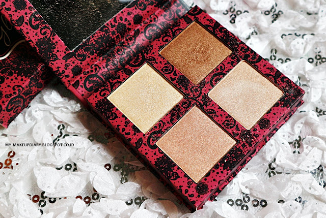 BEAUTY CREATIONS HIGHLIGHTER PALETTE