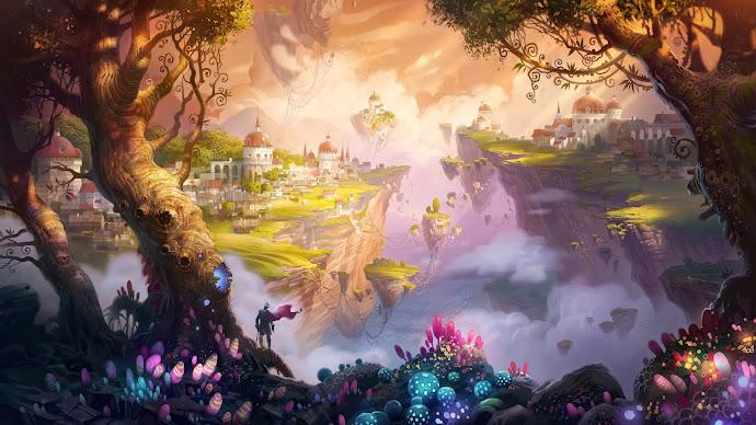 Wallpaper: 7 heaven landscape
