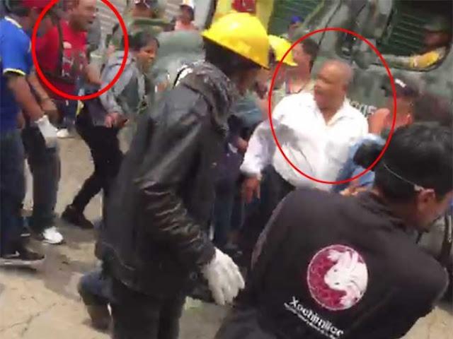 Vecinos, agreden y 'corren' a delegado en Xochimilco