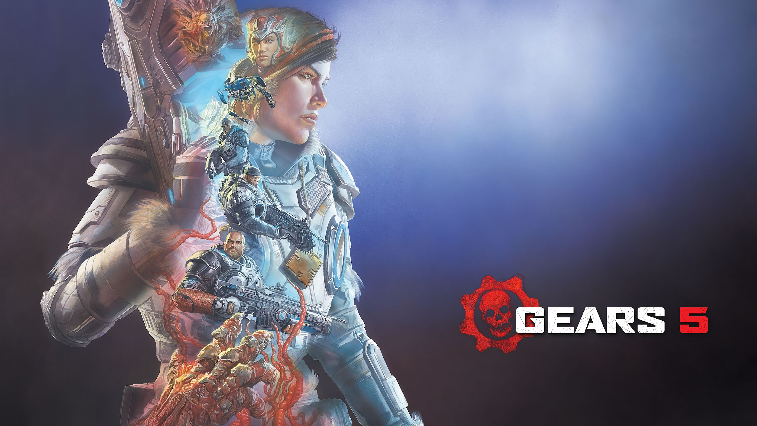 Gears 5 Kait Diaz Characters 4K Wallpaper #13