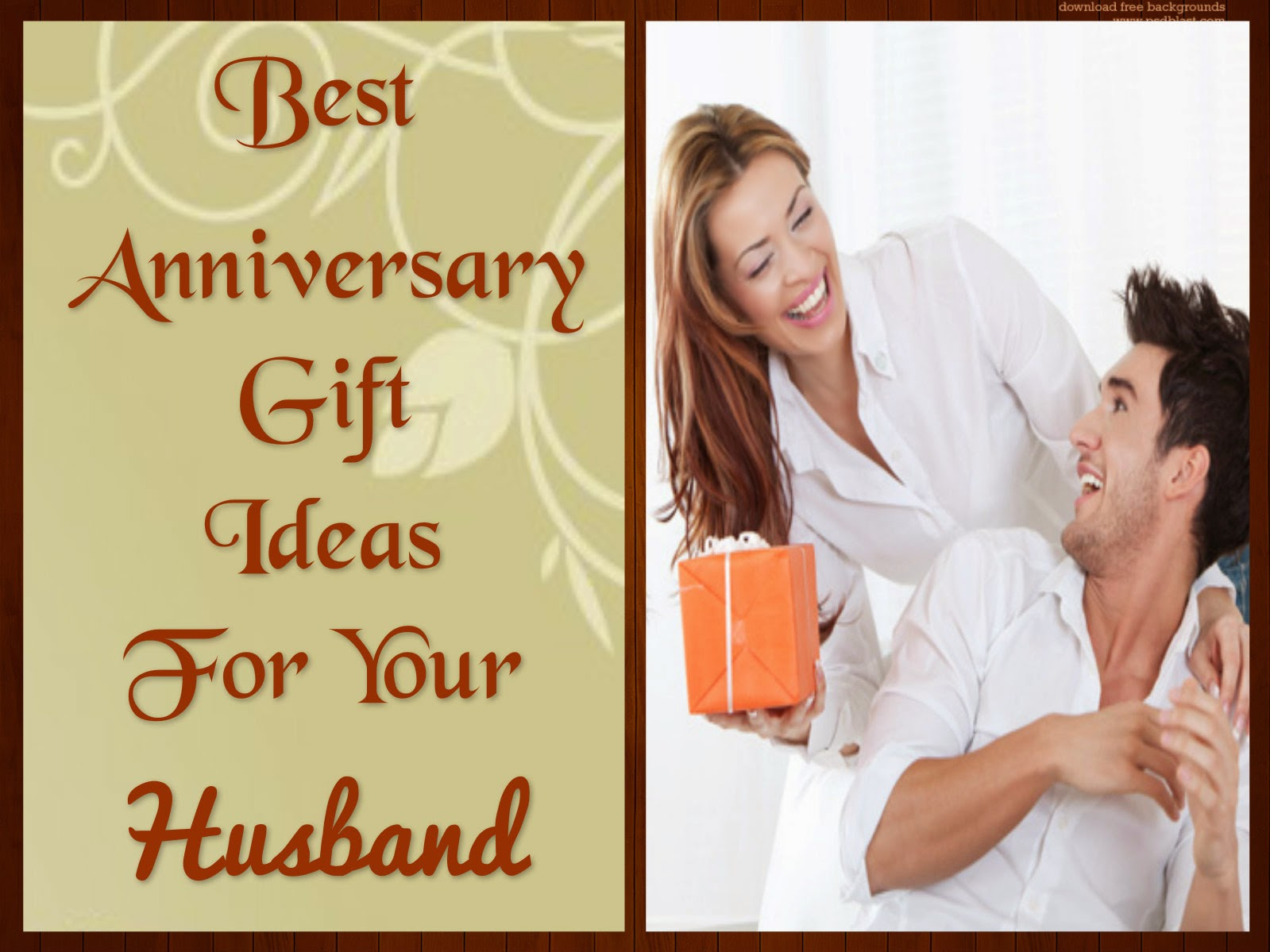 Wedding Anniversary Gifts For Husband Ideas: Wedding Anniversary Gifts: Best Anniversary Gift Ideas For