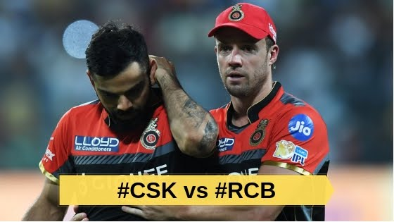 IPL2019 : मात्र 70 रन पर सिमटी कोहली की टोली !